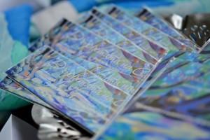 Магнити и подложки за чаши тип пъзел. Снимка Деница Проданова.