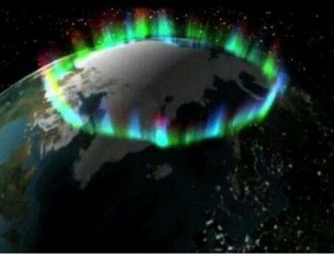 Aurora Borelis- Северното сияние е еманация на съзидателната енергия на земята- тя е нейната корона. Снимка на НАСА.