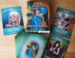 """Комплект ангелски карти на Дорийн Върчу """"Житейска мисия"""""""