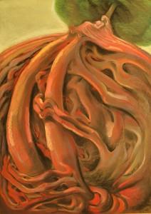 Пастел- Лечебната картина, пастел, на Дарина Янева www.darinayaneva.com