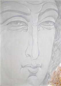 """Картина на Андрей Янев и карта """"Лична сила"""" на комплекта  Благославящите Ангели"""