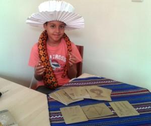 Багети и карти в ръцете на Магьосник