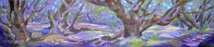 Едноименната картина от корицата, автор Дарина Янева, artdarina.com