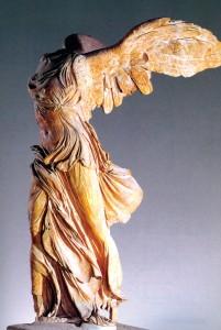 Статуята известна като Нике от Самотраки е изображение на Великата Майка- женското начало