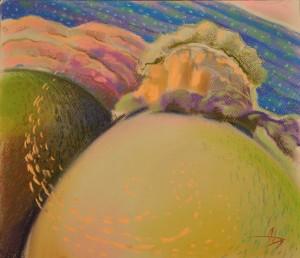 """Картина """"Приказка""""на Дарина Янева www.artdarina.com"""