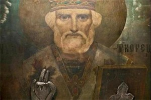 Чудотворната икона на св. Николай, оцеляла при бомбардировките на София